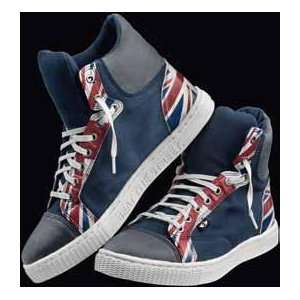 MINI Cooper Unisex Union Jack Sneakers 10.5 Mens 12 Women