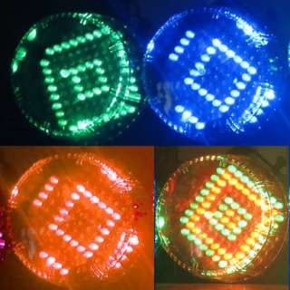 Sound control Seven color changing RGB LED Stage Light