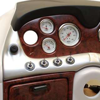 TRACKER MARINE 157560 BOAT DASH PANEL W/ GAUGES AND SWITCHES